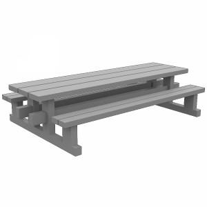 مدل سه بعدی صندلی پارکی چوبی