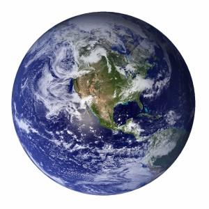 عکس سیاره زمین از فضا