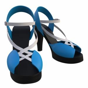 مدل سه بعدی کفش پاشنه بلند مجلسی زنانه