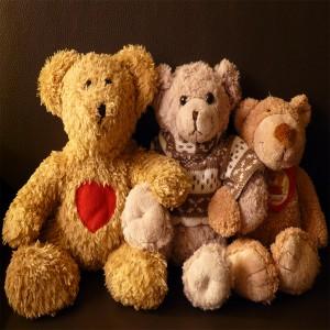 عکس عروسک های خرسی قلبی عاشقانه