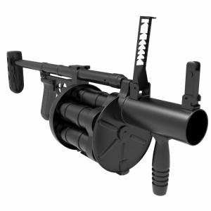 مدل سه بعدی تفنگ نارنجک انداز