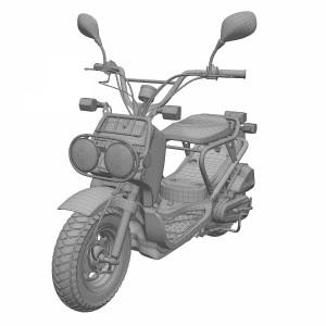 مدل سه بعدی موتور سیکلت برقی هوندا