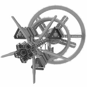 مدل سه بعدی ایستگاه فضایی