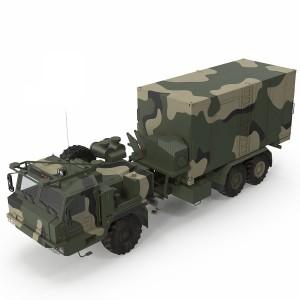مدل سه بعدی کامیون فرماندهی میدان نبرد جنگ