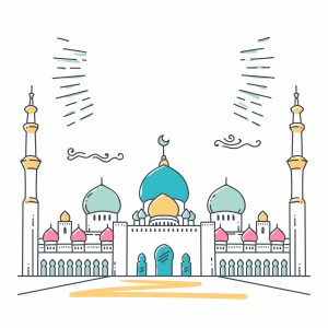لایه باز مسجد
