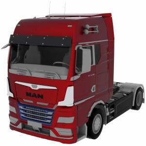 مدل سه بعدی کامیون شرکت مان