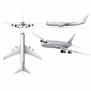 لایه باز هواپیمای مسافربری