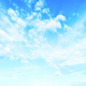 عکس آسمان ابری و آسمان آبی