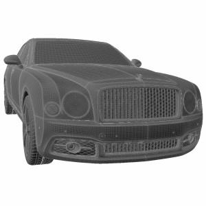 مدل سه بعدی بنتلی مولسان 2017