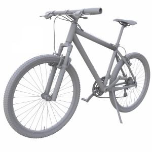 مدل سه بعدی دوچرخه ورزشی