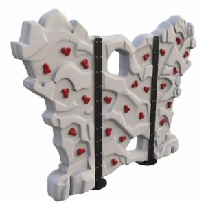 مدل سه بعدی دیواره سخره نوردی کودکان