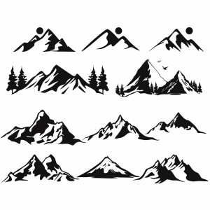 لایه باز کوه های مختلف کوهستانی
