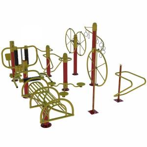 مدل سه بعدی تجهیزات ورزشی پارکی(بدن سازی)