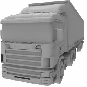 مدل سه بعدی کامیون کشنده اسکانیا