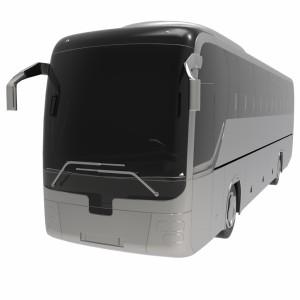 مدل سه بعدی اتوبوس مسافربری