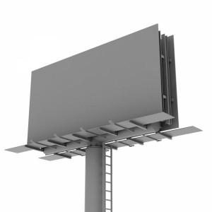 مدل سه بعدی بیلبورد تبلیغاتی