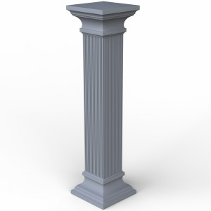 مدل سه بعدی ستون