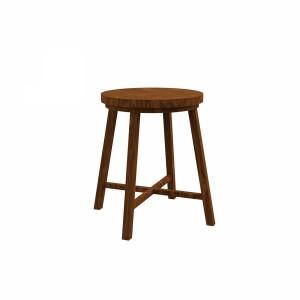 مدل سه بعدی صندلی چوبی (چهارپایه)