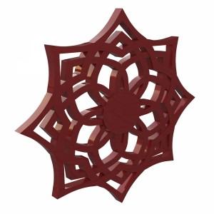 مدل سه بعدی طرح اسلیمی قدیمی